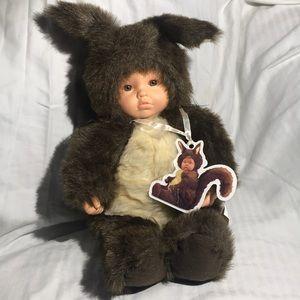 Anne Geddes Squirrel Baby
